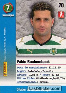 Rochemback (Sporting) - Back