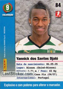 Djalo (Sporting) - Back