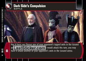 Dark Side's Compulsion (Battle)