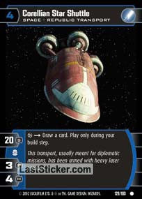 Corellian Star Shuttle (Space)
