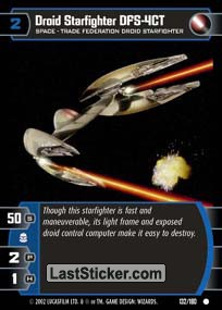 Droid Starfighter DFS-4CT (Space)