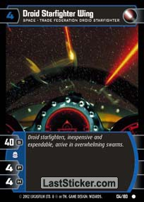 Droid Starfighter Wing (Space)