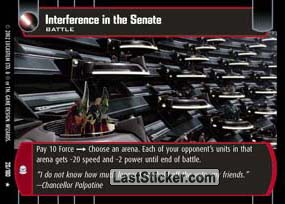 Interference in the Senate (Battle)