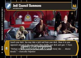 Jedi Council Summons (Mission)
