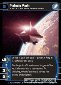 Padme's Yacht (A) (Space)