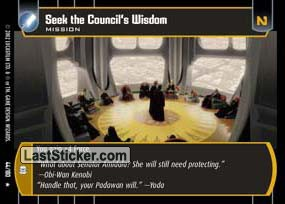 Seek the Council's Wisdom (Mission)