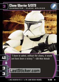 Clone Warrior 5/373 (Character)
