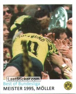 Meister 1995, Schale (Best of Bundesliga)