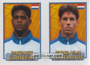 Kluivert/Nistelrooy (a/b) (Holland)