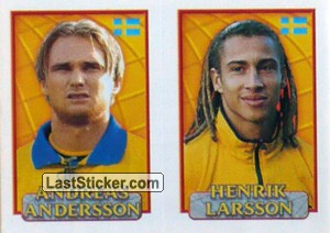 A.Andersson/Larsson (a/b) (Sweden)