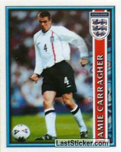 Jamie Carragher (The England Squad)
