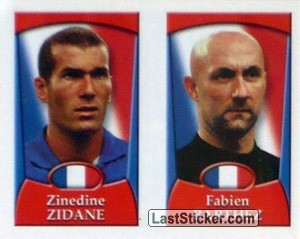 Zidane/Barthez (a/b) (France)