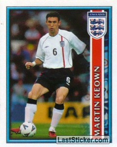 Martin Keown (The England Squad)