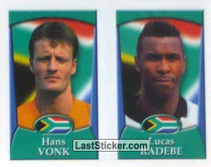 Vonk/Radebe (a/b) (South Africa)