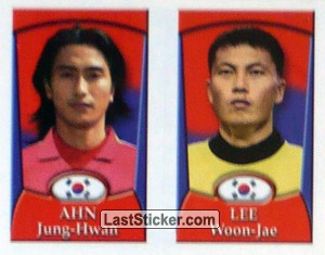 Ahn Jung-Hwan/Lee Woon-Jae (a/b) (Korea Republic)