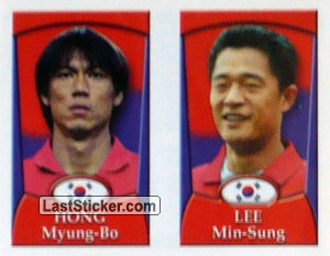 Hong Myung-Bo/Lee Min-Sung (a/b) (Korea Republic)