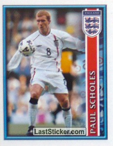 Paul Scholes (The England Squad)