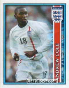 Andrew Cole (The England Squad)