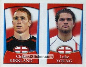 Chris Kirkland/Luke Young (a/b) (England U-21)