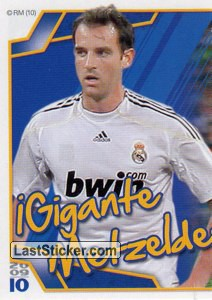Metzelder (Mosaico) (Real Madrid)