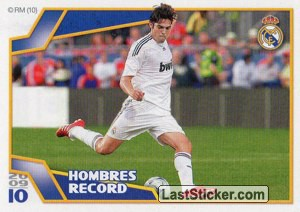 Hombres Record - Kaká (Real Madrid)