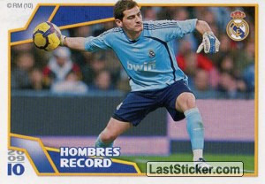 Hombres Record - Casillas (Real Madrid)