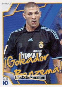 Benzemá (Mosaico) (Real Madrid)
