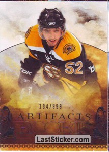 Zach Hamill /999 (Boston Bruins)