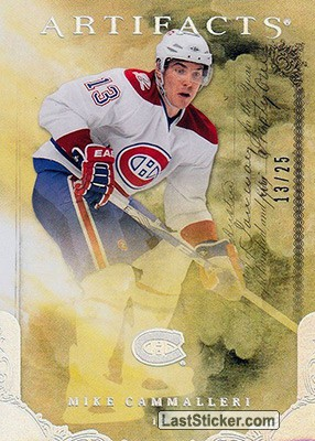 Mike Cammalleri  /25 (Montreal Canadiens)