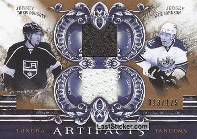Doughty/Johnson - #/75 (Los Angeles Kings)