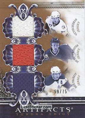 Phaneuf/Bouwmeester/Hedman - #/50 (M. Leafs/Flames/Lightning)