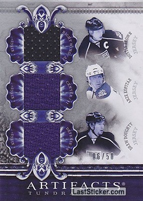 Kopitar/Doughty/Brown - #/50 (Los Angeles Kings)