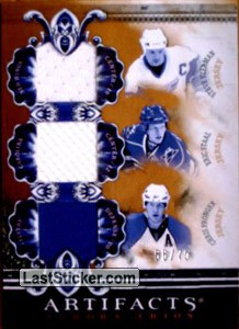Pronger/Staal/Yzerman - #/50 (Flyers/Hurricanes/Red Wings)
