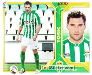 Tosic (3B) COLOCAS (REAL BETIS)