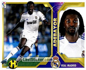 Adebayor (16B) (REAL MADRID)