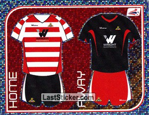 Doncaster Rovers Kits (Doncaster Rovers)