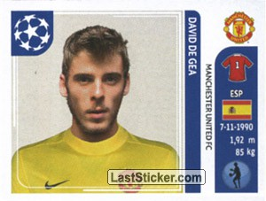 David De Gea  Manchester United FC