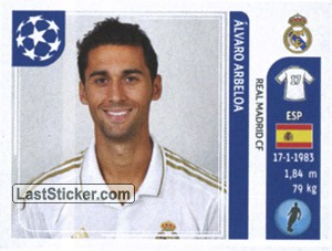 Alvaro Arbeloa  Real Madrid CF