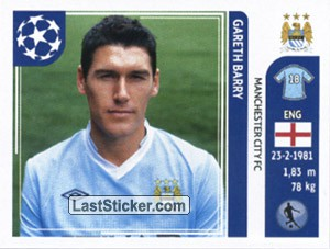 Gareth Barry (Manchester City FC)
