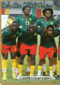 Team Cameroon (Puzzle) (Cameroon)