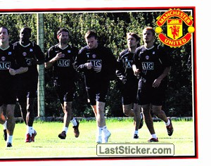 The Squad in Action (2 of 2) (The Theatre of Dreams)