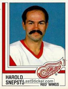 Harold Snepsts (Detroit Red Wings)