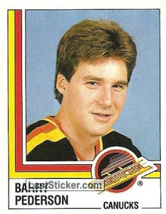 Barry Pederson (Vancouver Canucks)