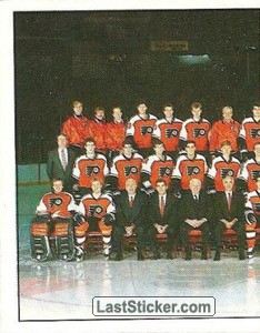 Philadelphia Flyers, Team Photo (1 of 2) (1987 Stanley Cup Playoffs)