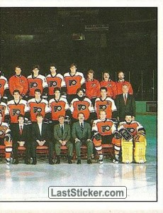 Philadelphia Flyers, Team Photo (2 of 2) (1987 Stanley Cup Playoffs)