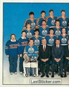Edmonton Oilers Team (1 of 2) (1987 Stanley Cup Playoffs)