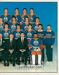 Edmonton Oilers Team (2 of 2) (1987 Stanley Cup Playoffs)