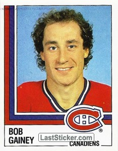Bob Gainey (Montreal Canadiens)