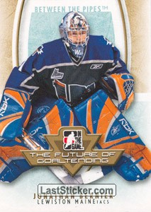 Jonathan Bernier (The Future of Goaltending)