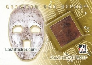 Jacques Plante (Mask Game-Used)